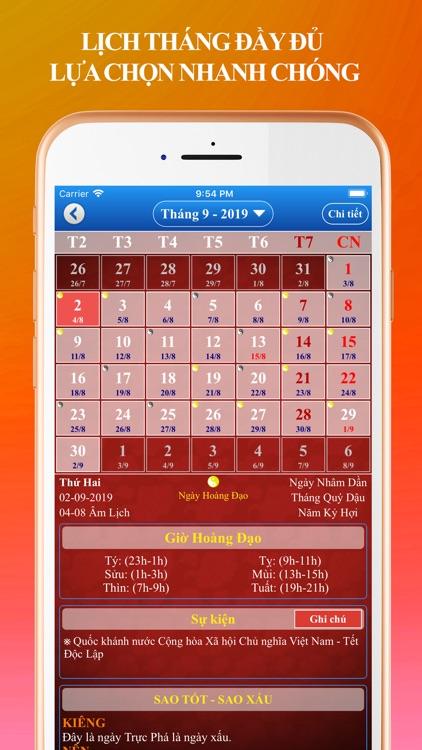 Lich Van Nien 2020 - Lich Viet screenshot-3
