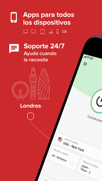 Screenshot for ExpressVPN: Proxy VPN Wi-Fi in Colombia App Store