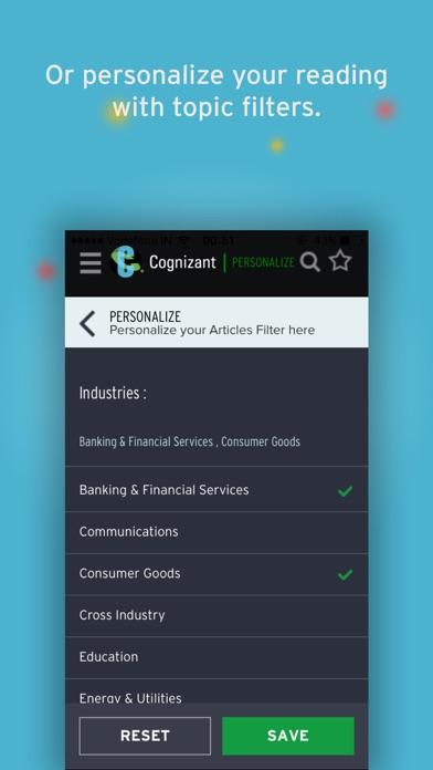 Cognizant Digital Perspectives screenshot four