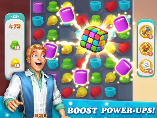 Dream Home Match 3 Puzzles Gam screenshot 8