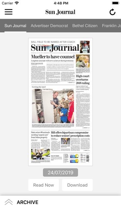 Sun Journal ePaper