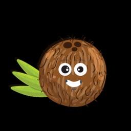 Weird Coconut Sticker