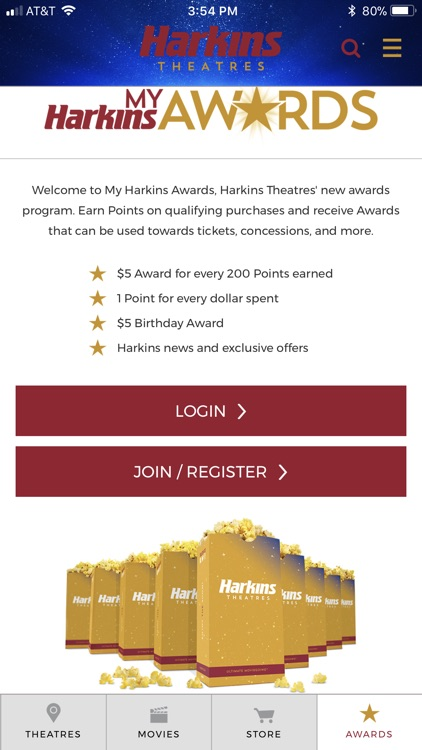 Harkins: Movies, Awards & More screenshot-4