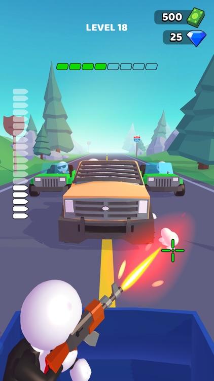 Rage Road - Car Shooting screenshot-0