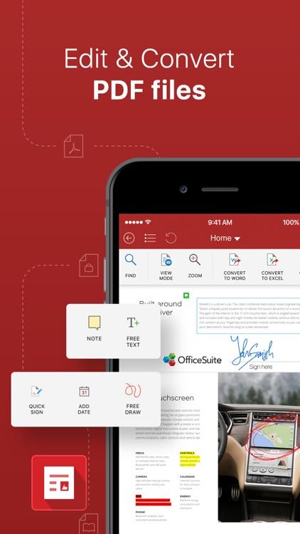OfficeSuite & PDF editor screenshot-4