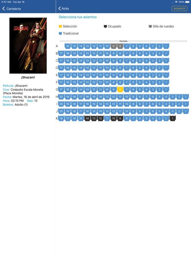 Cinepolis En App Store