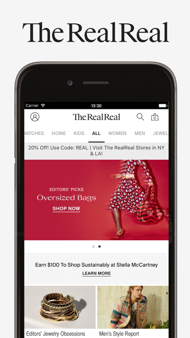 The RealReal - Buy+Sell Luxury for Windows