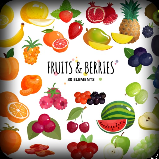 Fruit Delicious Stickers icon
