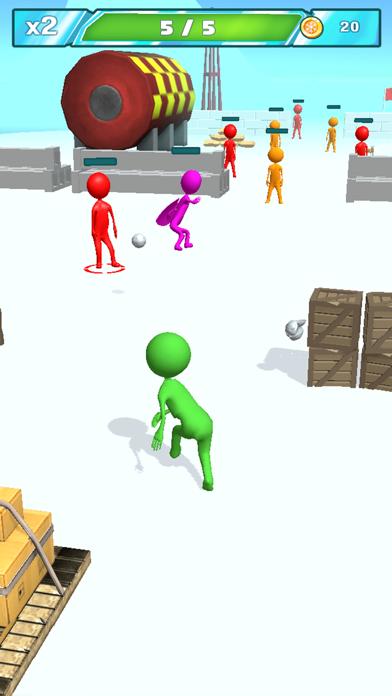 Snowballs fight screenshot 2