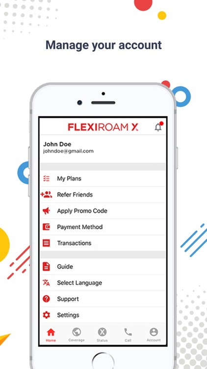 Flexiroam X screenshot-3