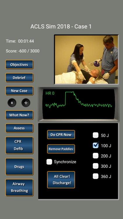 ACLS Simulator 2018 screenshot-2