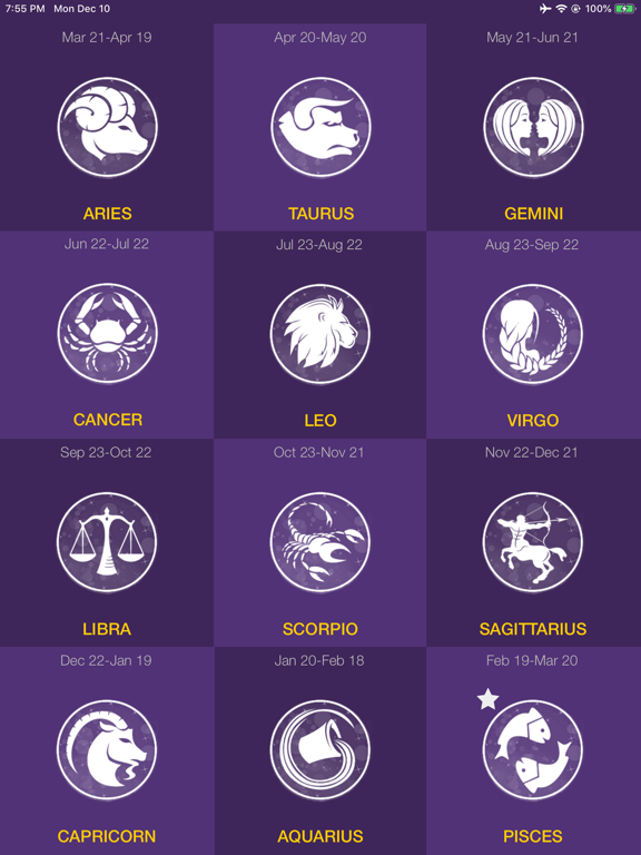 Daily Horoscope - Astrology ! | App Price Drops
