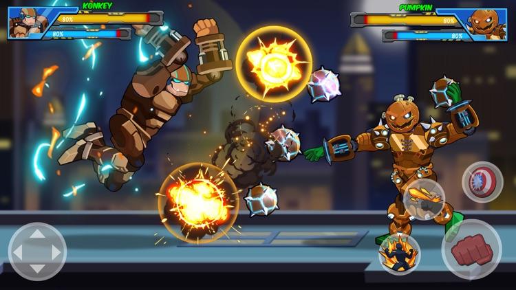 Robot Super: Boxing Games screenshot-4