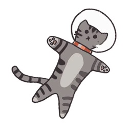 Space Kitty Sticker Pack