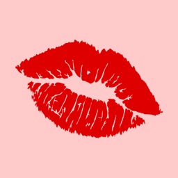 Lipstick Kiss Marks Stickers