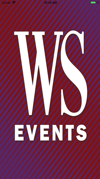 WS Events Screenshot