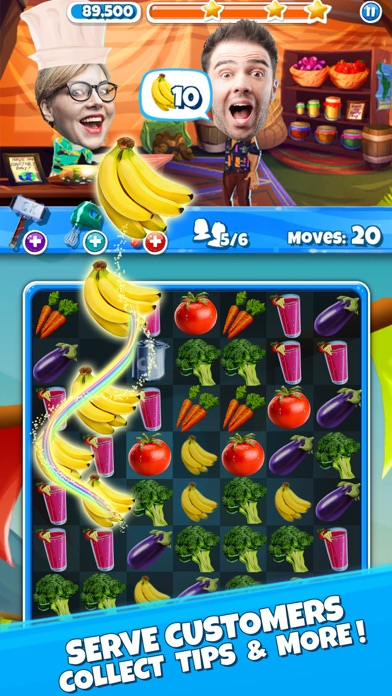 Download Crazy Kitchen: Match 3 Puzzles for Android