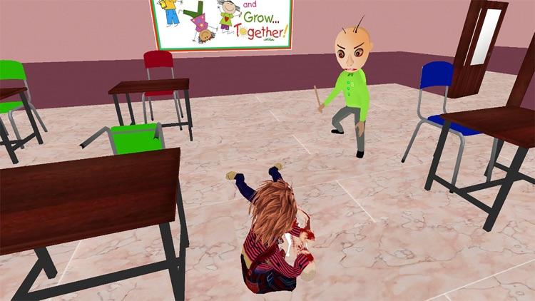 Education Basics Scary Teacher screenshot-5