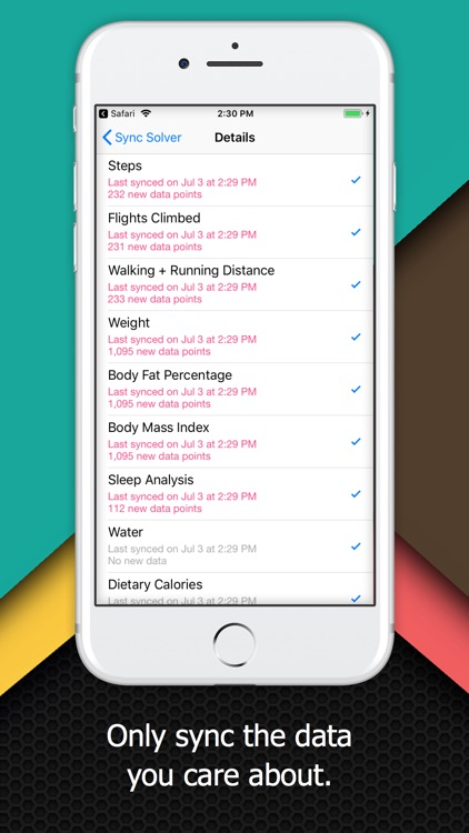 Sync Solver - Fitbit to Health screenshot-3