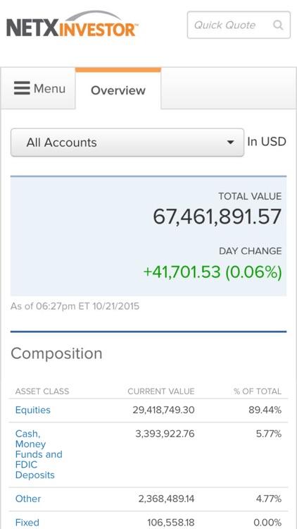 NetXInvestor™ Mobile screenshot-4