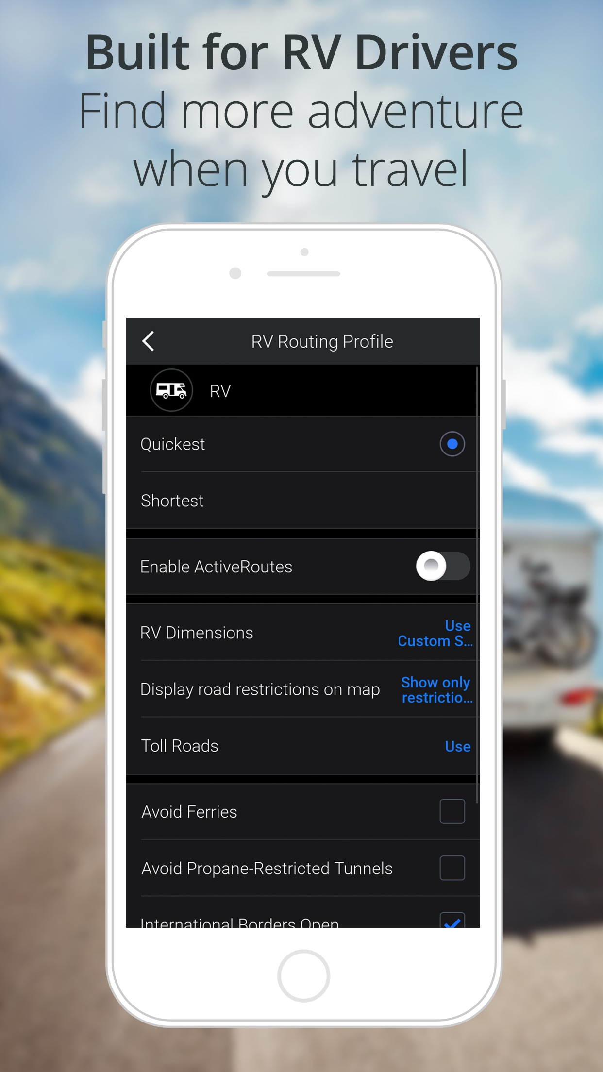 CoPilot GPS Navigation Screenshot