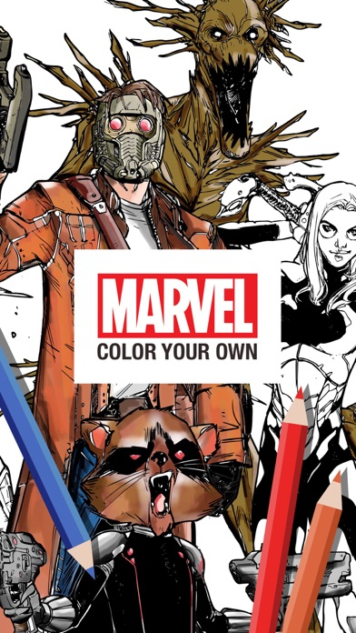 Marvel: Color Your Own Screenshot