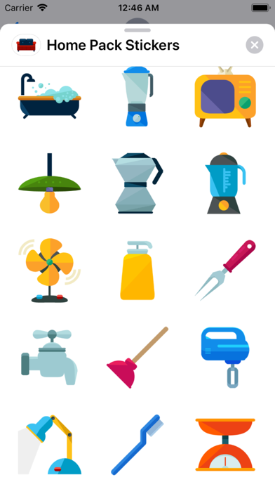 Home Pack Stickers app image