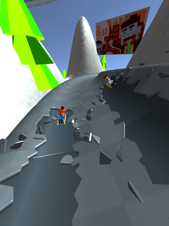 Snow Race! screenshot 8