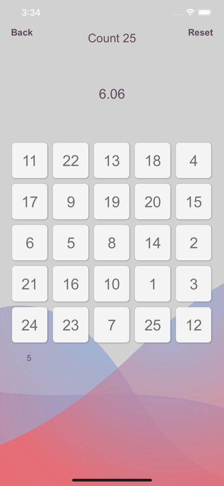 Count25 – Count to 25