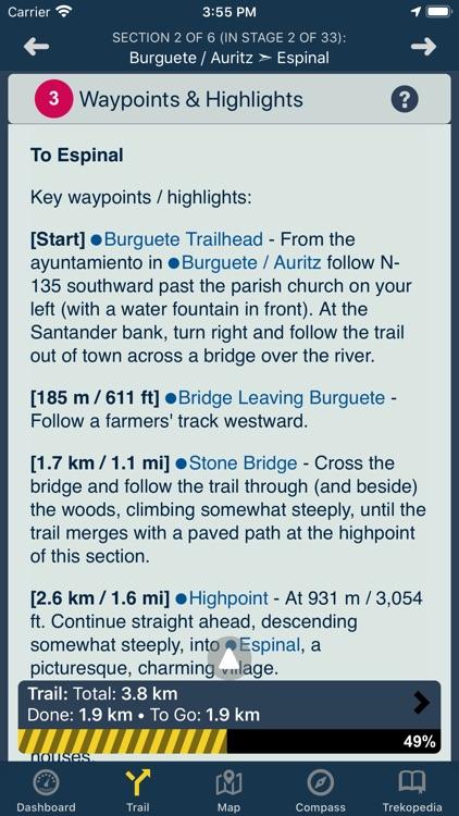 TrekRight: Camino Francés screenshot-6