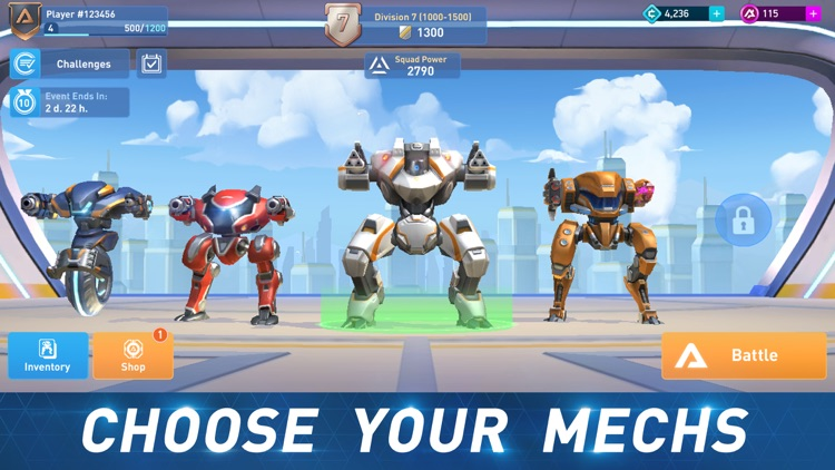 Mech Arena: Robot Showdown by Plarium Global Ltd