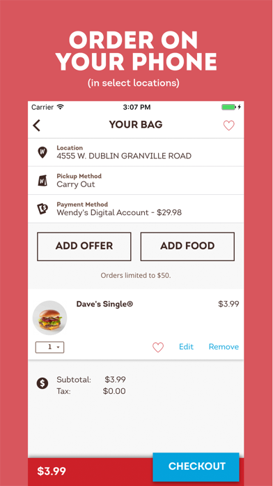 download Wendy's apps 4