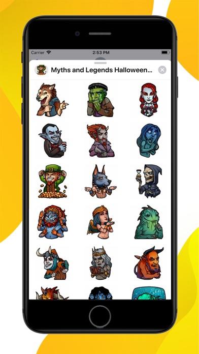 Myths and Legends Stickers screenshot 1