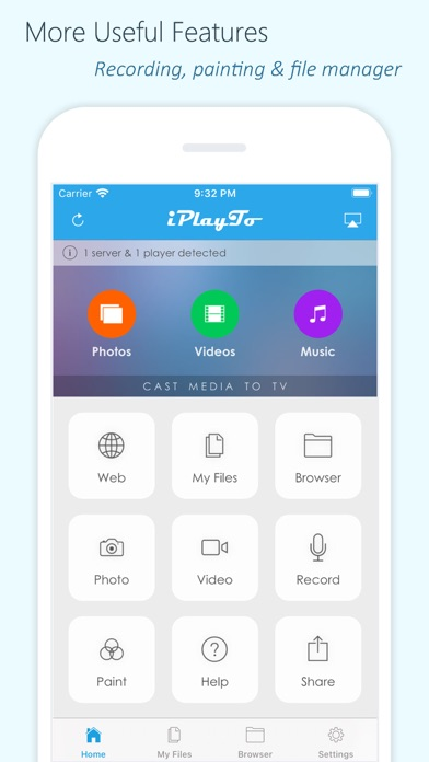 iPlayTo - Media Cast Screenshots