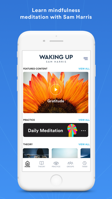 Waking Up: A Meditation Course Screenshot