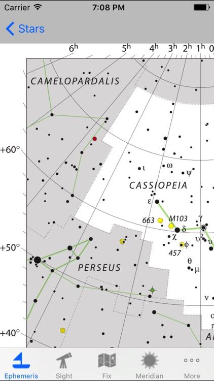 iMariner Celestial Navigation