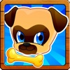 Where's my lost pet pug? Benji & Muzy on a Fun Puppy dog Running Race game for kids