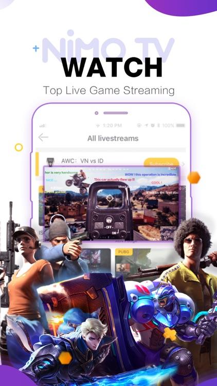 Nimo TV-Play. Live. Share. screenshot-4