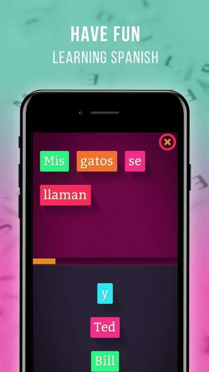Learn Spanish Frase Master screenshot-0
