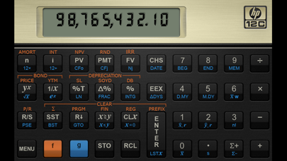 HP 12C Financial Calculator Screenshot