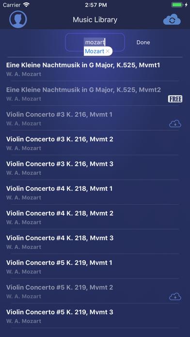 Cadenza Live Accompanist screenshot three
