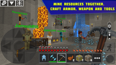 Planet of Cubes Survival Craft Screenshot on iOS