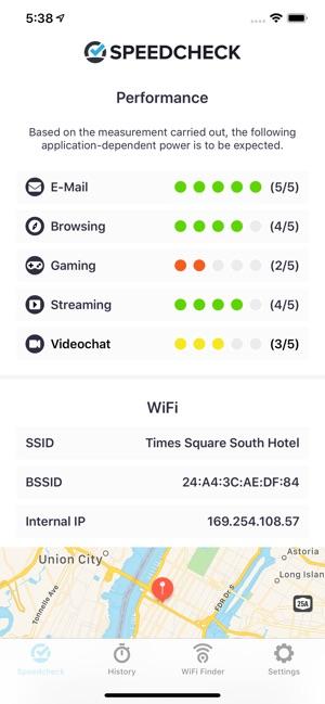 Speedcheck Internet Speed Test on the App Store