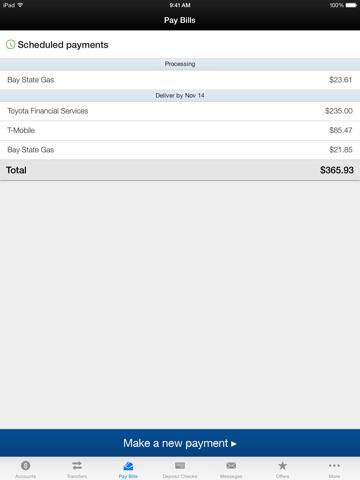MHVFCU Mobile Banking - náhled