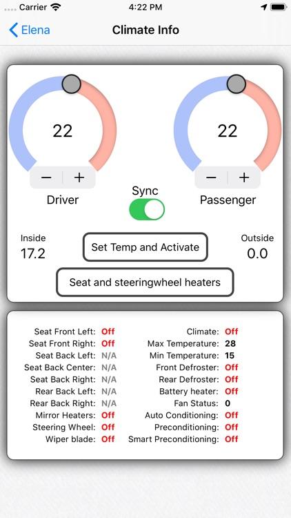 TeslApp - App for Tesla screenshot-5