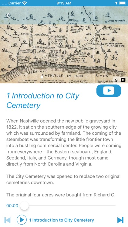 Nashville City Cemetery Tour