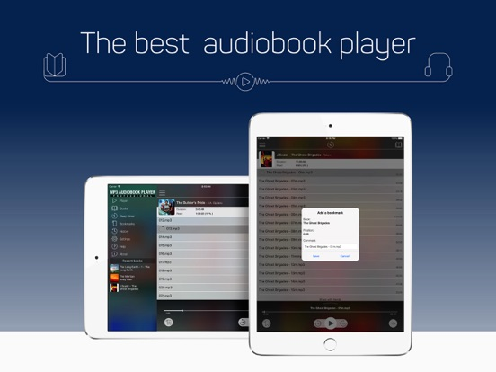 MP3 Audiobook Player Pro Screenshots