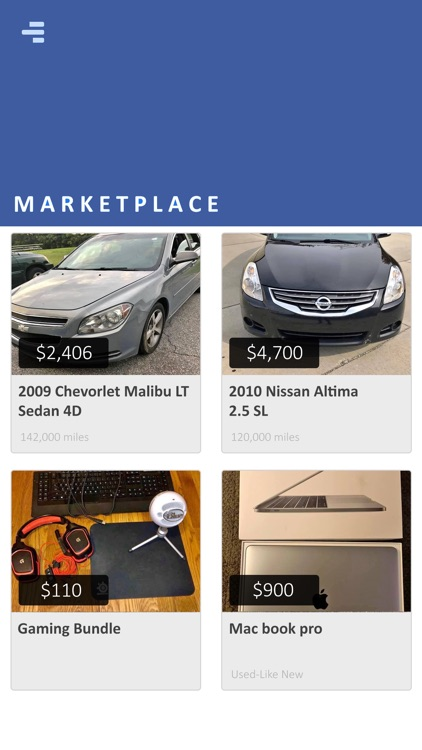 Marketplace - Buy & Sell Local