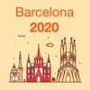 Barcelona 2020 — offline map