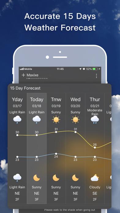 Live Weather- Forecast&Radar Screenshot
